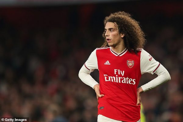 Matteo Guendouzi confirmed to leave Arsenal this summer